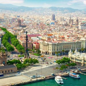 Samolotem do Barcelony
