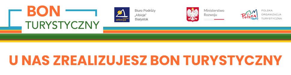 """Bon Turystyczny 500+ Biuro Podróży """"Albicja"""" Białystok"""